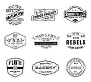 Vintage Vector Labels Royalty Free Stock Photography