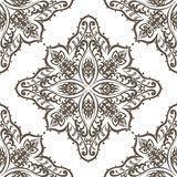 Vintage Vector lace pattern in Eastern style background Stock Photos