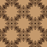 Vintage vector pattern. Hand drawn abstract Royalty Free Stock Photo