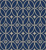 A vintage vector simple pattern Royalty Free Stock Photos