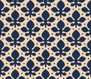 A vintage vector simple pattern Stock Images
