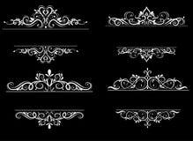 Free Vintage Vector Swirl Frame Set Royalty Free Stock Photo - 77461125