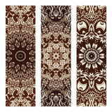 Vintage vector tribal ethnic banner Royalty Free Stock Photos