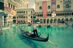 Vintage Vegas veneciano Fotografía de archivo