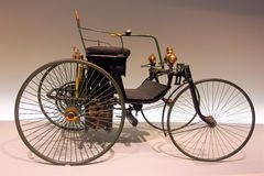 Vintage vehicle. Vintage 1889 Daimler Motor-Quadricycle Royalty Free Stock Images