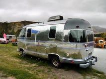 Vintage Vehicles, Airstream Camper, Motor Homes Royalty Free Stock Image