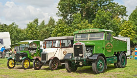 Vintage vehicles at Pickering Stock Photography