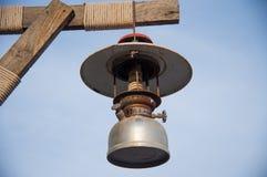 Vintage velho da lâmpada da lanterna Imagens de Stock