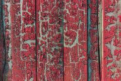 Vintage velho textura pintada da cerca Imagem de Stock