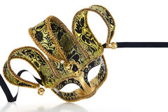 Vintage venetian carnival mask Stock Images