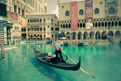 Vintage Venetian Vegas Stock Photography
