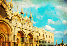 Vintage Venice Royalty Free Stock Image