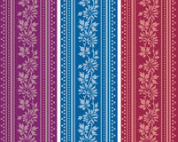 Vintage vertical floral banners royalty free illustration