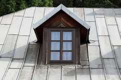 Vintage vertical roof window Royalty Free Stock Photography