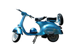 Vintage vespa (path included) Royalty Free Stock Photos