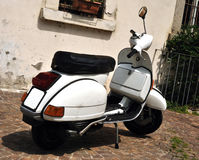 Vintage Vespa scooter Royalty Free Stock Photo