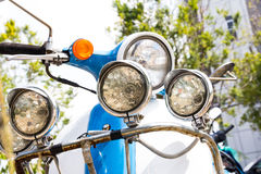 Vintage Vespa Royalty Free Stock Photography
