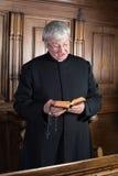 Singing vicar Royalty Free Stock Photography