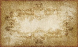 Vintage victorian old paper Royalty Free Stock Photography