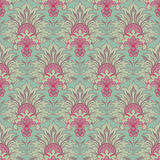 Vintage victorian seamless background Stock Photos
