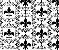 Vintage Victorian Wallpaper Royalty Free Stock Photography