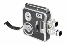 Vintage video camera Royalty Free Stock Photo