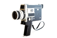 Vintage video camera Stock Photography