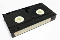 Vintage video cassette isolate on white background Royalty Free Stock Photo