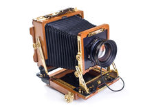 Vintage view camera Royalty Free Stock Images