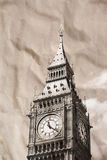 Vintage view of London Royalty Free Stock Photos