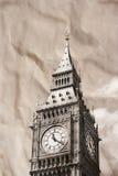 Vintage view of London. Big Ben Royalty Free Stock Photos