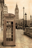 Vintage view of London Royalty Free Stock Image