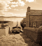 Vintage view of Stromness Royalty Free Stock Photos