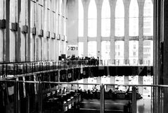 Vintage view of World Trade Center - NYC Royalty Free Stock Photo