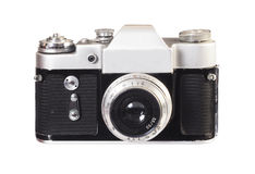 Vintage viewfinder photo camera Royalty Free Stock Photo