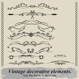 Vintage vignettes. Royalty Free Stock Photography