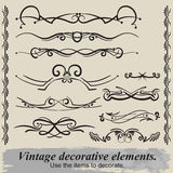 Vintage vignettes. Royalty Free Stock Photos