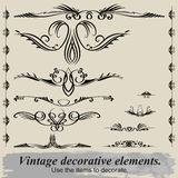 Vintage vignettes. Royalty Free Stock Photo