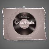 Vintage Vinyl Music Ilustration Stock Image