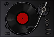 Vintage vinyl player Stock Photography