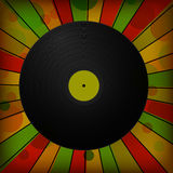 Vintage vinyl record Royalty Free Stock Photography