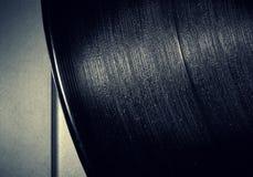 Vintage vinyl record closeup Stock Photo