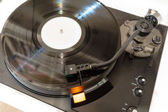 Vintage Vinyl Record Turntable Royalty Free Stock Image