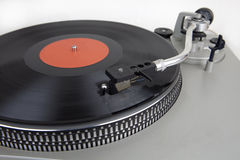 Vintage Vinyl Record Turntable Stock Images