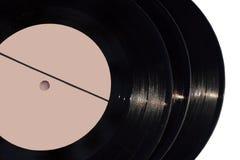 Vintage vinyl records Stock Photos