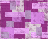 Vintage violet patchwork. Royalty Free Stock Photo