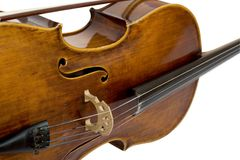 Vintage violin Stock Photo