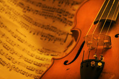 Vintage Violin Stock Images