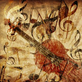 Vintage violin background Royalty Free Stock Photo