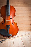 Vintage of violin and fiddle Stock Image